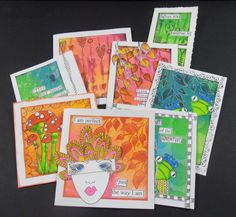 Dyan Reaveley Gallery | with the gorgeous range of Dylusions inks, stencils and stamps. Dyan ...