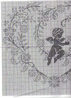 angel heart 2/3 punto croce