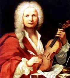 "Antonio Lucio Vivaldi March 1678 – 28 July nicknamed il Prete Rosso (""The Red Priest"") because of his red hair, was a Venetian Baroque composer, priest, and virtuoso violinist. His best known work is a series of violin concertos known as The Four Seasons. Baroque Composers, Classical Music Composers, Sebastian Bach, Vivaldi Winter, Vivaldi Spring, Antonio Lucio Vivaldi, M Anime, Music Humor, Music Memes"