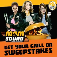 The @GoldnPlump Mom Squad wants YOU to enter the #GoldnGrilling sweepstakes!