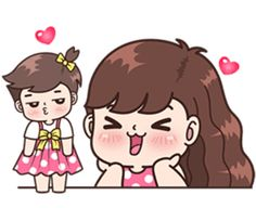 Boobib Cute Couples Vol.7 – LINE stickers | LINE STORE