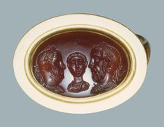 Portraits of Balbinus, Pupienus and Gordianus III Ancient Rome, 3rd century