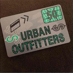 $50 for $40 Urban outfitters gift card Online balance proof will be made available before purchase. ♏️ercari for $40. Urban Outfitters Accessories