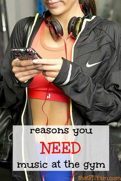 reasons you need music at the gym