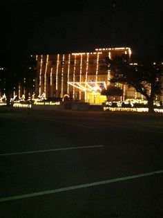 Lufkin Tx Courthouse Christmas 2013