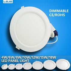 dimmable Ultra thin led downlight  4w 6w 8w10w12w 15w 18w led ceiling led lamp led downlight  round -  Warranty: 2year  Material: PP/Plastic  Voltage: 220V  Certification: CE,RoHS  Application: Foyer  Power Source: AC  Body Color: White  Switch Type: Knob switch  Power Tolerance: 10%  Brand Name: leje  Is Dimmable: Yes  Light Source: led  Item Type: Downlights  Light Source: LED Bulbs  Is Bulbs Included: Yes  Usage: Industrial  Base Type: Wedge -   Related: dimmable #Ultra #thin #led…
