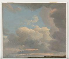 Cloud Study (Early Evening)  Simon Denis (Flemish, Antwerp 1755–1813 Naples)