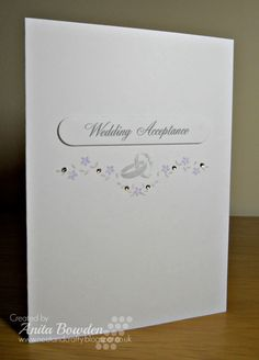 Neet & Crafty: Wedding Acceptance