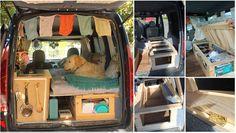 Bett im Hochdachkombi einbauen