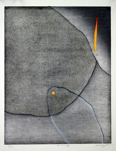 Hidehiko Gotou-Another Night Contemporary Printmaking, Contemporary Abstract Art, Abstract Pictures, Art Pictures, Photos, Japanese Art Modern, Surface Art, Circle Art, Paintings I Love