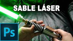 Como hacer espada láser de Star Wars - Tutorial Photoshop en Español