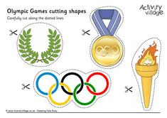 Olympic Games cutting shapes                                                                                                                                                                                 Mehr