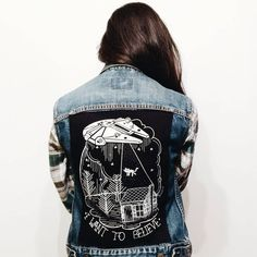 //pinterest @esib123 // #style #inspo #fashion  denim jacket