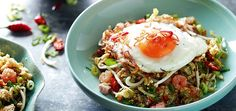 Nasi Goreng - Chef Pete Evans gives this Indonesian staple an inventive twist, high in texture and flavour.