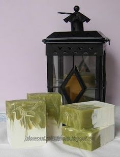 JABONES NATURALES DE MAYTE: jabón de arcilla verde