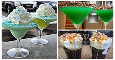 10 Greatest St. Patrick's Day Drinks Ever - For more delicious recipes and drinks, visit us here: www.tipsybartender.com