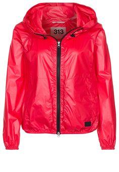313 Waterproof jacket red