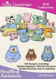 Anita Goodesign | Stuffed Animals - Anita Goodesign