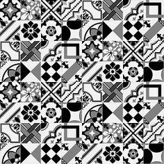 Textures Texture seamless | Patchwork tile texture seamless 16816 | Textures - ARCHITECTURE - TILES INTERIOR - Ornate tiles - Patchwork | Sketchuptexture