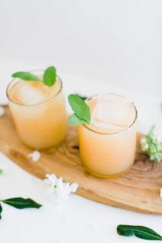 Cocktails – Grapefruit Sage Champagne Cocktail