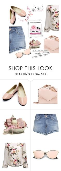 """""""simple"""" by e-memagic ❤ liked on Polyvore featuring RALPH & RUSSO, J Brand, WALL and GALA"""