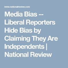 opinion myth liberal media bias