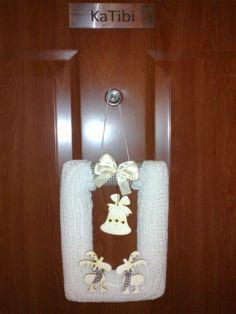 Our Christmas Door Wreath (my work)