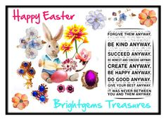 """""""Happy Easter"""" by brightgemsu ❤ liked on Polyvore featuring Universal Lighting and Decor"""