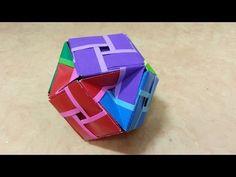 123 Origami 종이접기 (다면체) 24개 색종이접기 摺紙 折纸 оригами 折り紙 اوريغامي - YouTube Origami Cube, Origami And Kirigami, Modular Origami, Origami Folding, Oragami, Diy Origami, Origami Tutorial, Paper Folding, Origami Paper