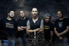 Resenha do Rock: Crom: liberando música inédita e procurando bateri...