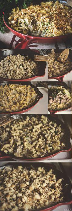 Tuna Noodle Casserole \\ GirlCarnivore.com