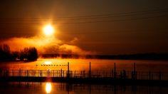 New day on the bridge by Andre Villeneuve            Andre Villeneuve: Photos                                 #nature #photography