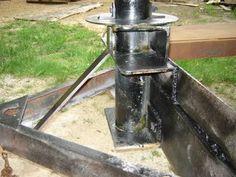 500 Lb Hydraulic Hoist Crane Lift Hitch Mount Truck Engine