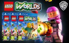 Trois exemplaires du jeu #LEGO Worlds à gagner chez @hothbricks !