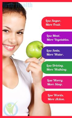 Health and fitness tips for women. #healthy_living