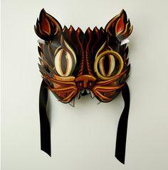 Image result for vintage cut out mask