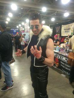 AMAZING Greed cosplay from Fullmetal alchemist