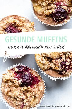 Baked Oatmeal Muffins Gesunde Meal Prep Muffins a. - Expolore the best and the special ideas about Frugal meals Simple Muffin Recipe, Healthy Muffin Recipes, Healthy Muffins, Healthy Meal Prep, Healthy Dinner Recipes, Easy Snacks, Easy Desserts, Healthy Snacks, Dessert Recipes