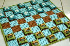 @Rebecca Browne -Bean bag checkers...