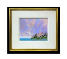 #5 | Artist: Robert Anderson | Title: Near Neys, Lake Superior | Medium: Acrylic on canvas board | Dimensions: 8.5 in x 10.5 in. | Framed 15.5 in. x 17.5 in.