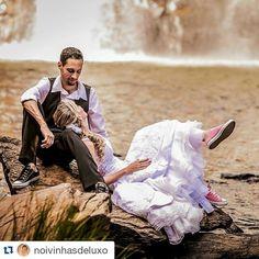 Casamento na Cachoeira - Lívia e Fabio - Clube Noivas