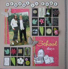 School is cool - Scrapbook.com