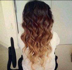 Pretty Long Ombre Hair