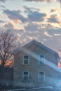 Old Rock School, Dodgeville, Wisconsin