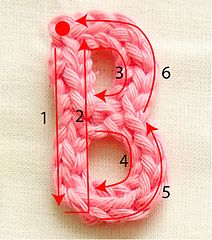 Have fun with these crochet letters - as appliques to embellish your cloths, bags, jeans, and why not your converse chucks? :)