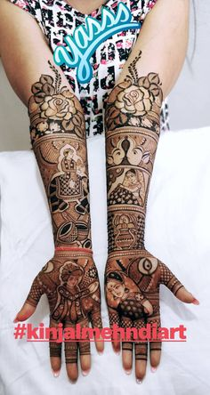 Gorgeous bridal mehndi