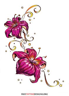 lily flower tattoos tattoo flowers and lilies flowers on pinterest. Black Bedroom Furniture Sets. Home Design Ideas