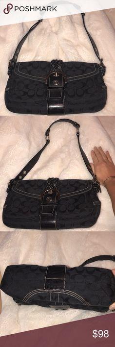 Black COACH purse Excellent condition!!! Coach Bags Satchels