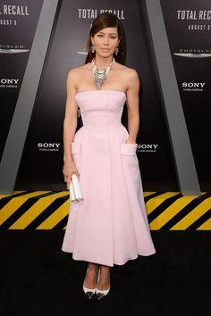Jessica Biel in Dior