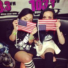 uhhh jade, the flag's upside down.. lol
